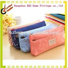promotion cotton pencil case/printed pencil bag