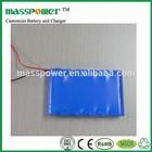 Rechargeable Lithium li ion 11.1v 5200mah lipo battery pack