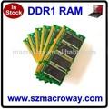 el mejor precio para comprar china ett papasfritas 2x1gb ram ddr1 2gb para el ordenador portátil