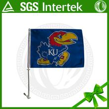 new design Kansas Jayhawks sports car flag