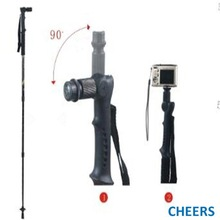 Photo system Multi-function Alu Trekking Poles Camera Mount/Stand