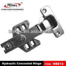 Hydraulic buffering hinge cabinet door hinge pins