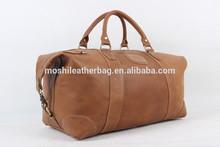 New Fashion Custom Design Leather Travel Duffle Bag