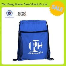 2015 new design best selling promotion sport drawstring backpack