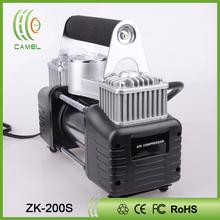 Mini air compressor pump tire sealer and inflator