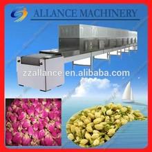 291.hot sales belt drying machine microwave tunnel flower dehydrator