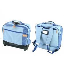 2015 New design trendy school bag on wheels
