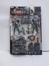NEW PRODUCT KIDS PLASTIC MILITARY PLAY SET