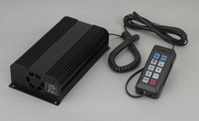 China Manufacturer Police car 150w 100w electronic siren amplifier