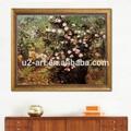 rosebush المتفتحة فان غوخ اللوحة النفط قماش اللوحة