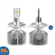 Factory Price New 12V 4500LM H/L 9004 9007 Car LED H4 Headlights LED Headlamp Fog Light DRL LED Daytime Running Light
