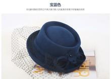 100% Wool Classic women Felt Hat