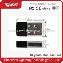 Ogemray GWF-3S03 CE FCC ROHS USB Wifi Dongle Wifi Direct