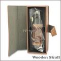 hugediseño mod e cigarrillo cráneo venta al por mayor de madera vaporizador cráneo mod