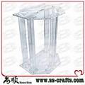Púlpito de acrílico púlpito púlpito/vidro orgânico púlpito da igreja/acrílico púlpito da igreja