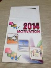 Rekabetçi fiyat cep boyutu takvim kartı/özel islami takvim 2014
