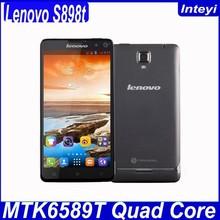 Original Lenovo S898T MTK6589T Quad Core 1.5GHz 3G Smart Phone 5.3'' Android 4.2 RAM 1GB ROM 8GB 13MP Lenovo S898t