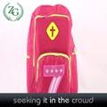 Oem/ODM pembe genç kız okul çantaları