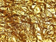 Top qualité cristal mosaïque feuille d'or papier