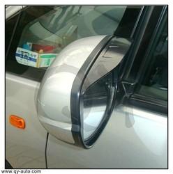 outlander mitsubishi 2013 car accessories sun shade window visor Rear View Mirror 2 PCS Original Transparent black 3M
