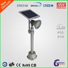 green energy outdoor standing led lamp waterproof with solar panel