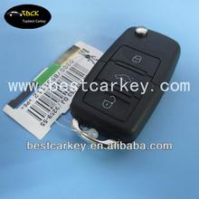 Topbest 3 buttons smart key for vw smart key vw remote key 433Mhz ID48chip 1jo 959 753 G