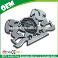 Cualquier orden de acometida está disponible, personalizado de alta calidad de metal emblema