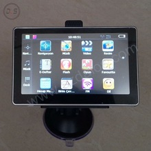 5inch gps navigation 128M +4G ,good quality 5inch navigator with world map ,CE repots for gps car different languages