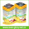 De alta qualidade folha de alumínio laminado Stand Up Pouch Zipper polpa de frutas embalagem