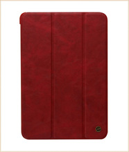 In stock leather case for ipad air for smart case ipad mini for case ipad mini