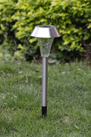 1PC LED Solar Powered Outdoor Garden LED Pathway Deck Path Spike ground Light Lamp