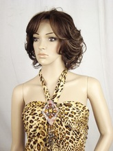Trendy Short Curly 100% Futura Lace Front Wig