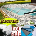 100% raw Bayer Markrolon uv-protected polycarbonate sheeting