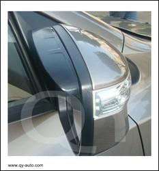 window visor rear mirror for hyundai santa fe 2013 mazda cx 5 2012 kia sorento 2010 toyota rav4 2010 hard good plastic 3M tape