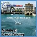 aquastar sumergible al aire libre fuente de agua