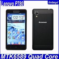 Original Lenovo P780 MTK6589 Quad Core 3G Smart Phone 4000mah 5 inch IPS 8mp Android 4.2 Multi language White Black