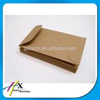 recycle brown kraft paper pocket envelope