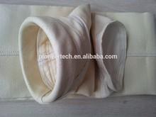 plain PTFE coating woven glass filter bag