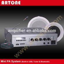 el34 Tube 80watt 12V Subwoofer HiFi Wiring Kit 4 Audio Sources PA System amplifier module for active speaker