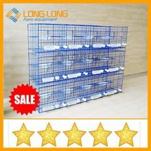 las aves de corral equipos de carreras de palomas de la jaula fácil de limpiar la capa azul jaulas de palomas