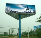 double side advertising display poster and outdoor digital signboard structure billboard poster