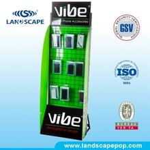 free standings poster holder displays/retail display racking/display case