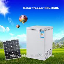 Hot selling 68L 12V DC solar chest deep freezer 12v dc freezer freezer 12v