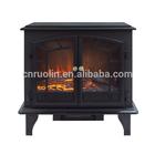 Freestanding home comfort electric heater