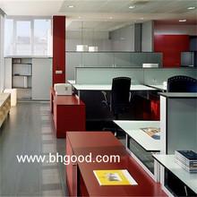 wholesale woodgrain hpl table top for office desk annd cabinet