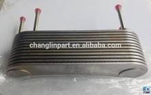 SHANGCHAI D6114 engine oil cooler core shangchai engine parts