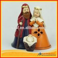 Religious nativity set handmade funny christmas crafts
