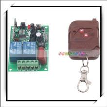 Canales inalámbrico mando a distancia Universal transmisor y 220 V inalámbrico mando a distancia Universal de referencia del controlador de Brown