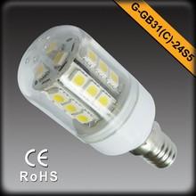 120V/230V 3W 360 Degree LED Bulb Lighting Plastic Housing With Cover