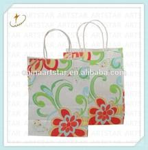 Twist handle shopping bag (professional kraft bag manufacturer)